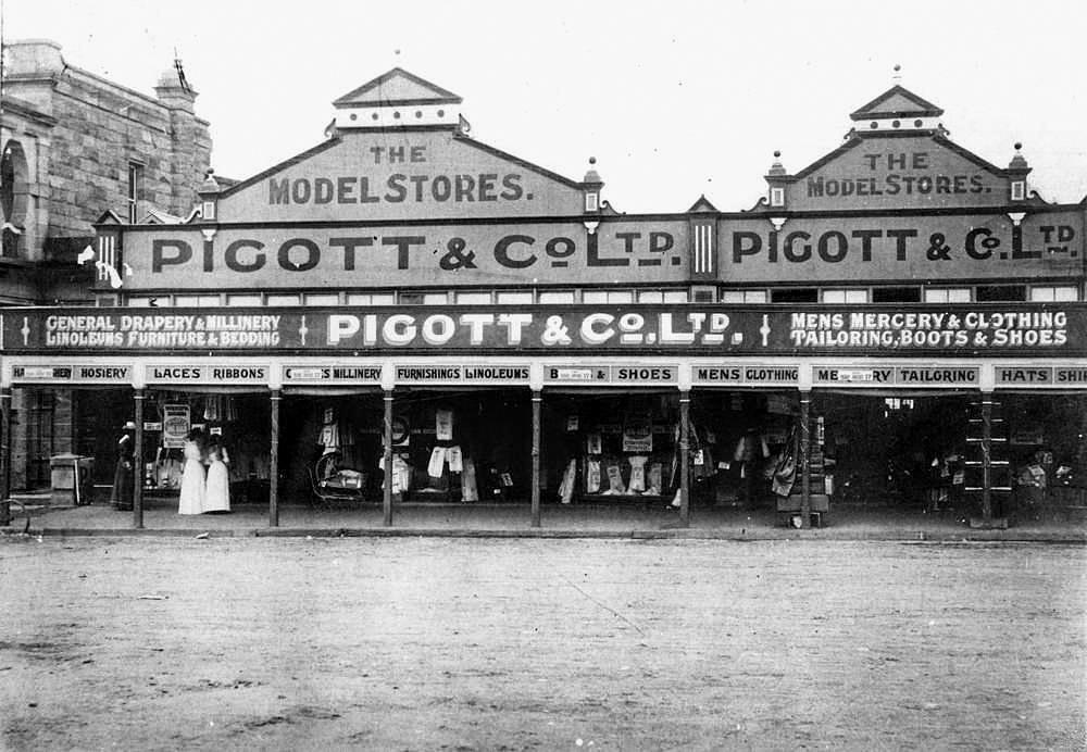 LOOKING BACK: Piggot & Co was a popular general store.