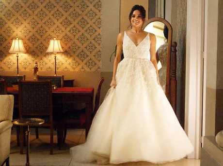 Meghan Markle as Rachel Zane in Suits.  Picture:  Supplied