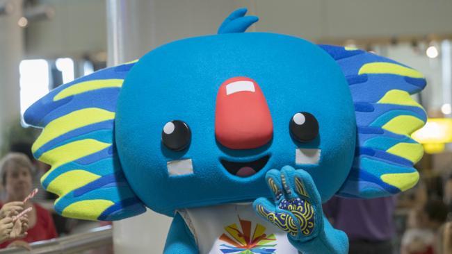 Commonwealth Games mascot Borobi.