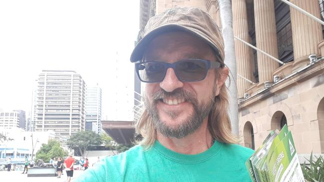 Paul Hilder is fighting to legalise cannabis
