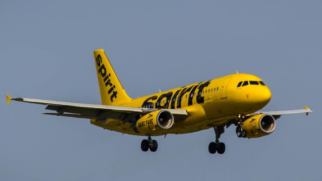 American low-cost carrier Spirit Airlines. Picture: Spirit Airlines