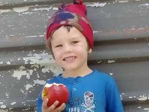 Shot 5-year-old '1mm from death'