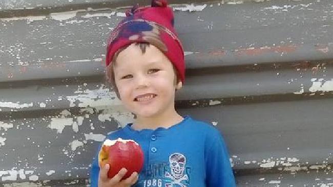 Cameron Calvisi, aged four.