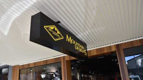 Mountain Designs opened in Ruthven Street.