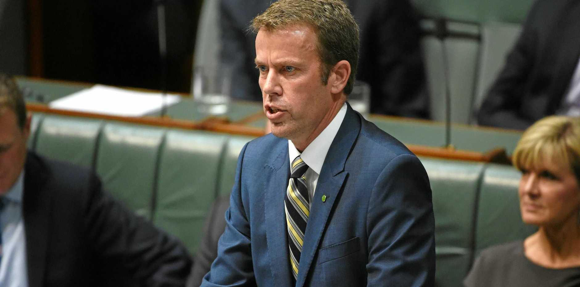 ROLL ON: Minister for Social Services Affairs Dan Tehan.