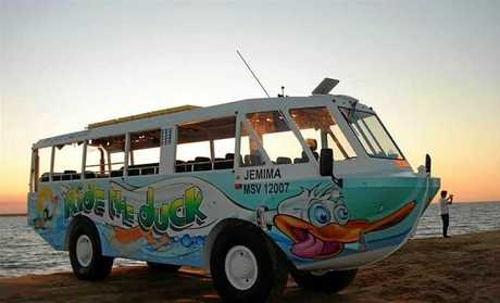 Owners of the Airlie Beach based DuckBus are open of offers over $500,000 for the popular amphibious vehicle.