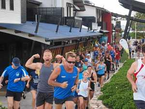 Airlie Beach parkrunners brave the heat