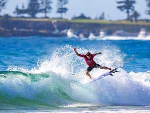 Reef knocked out of world junior surfing championships