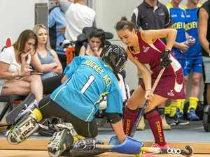 Queensland agonisingly short of indoor hockey gold