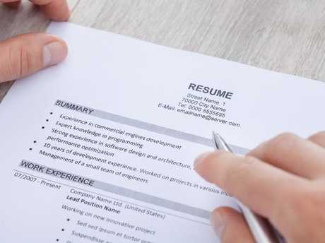 A strong resume just isn't going to cut it