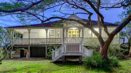This original Queenslander at 77 Mowbray Tce, East Brisbane, sold for $4m.