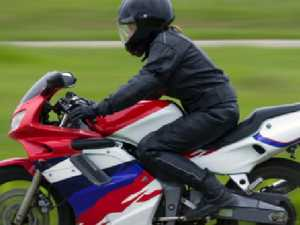Motorcyclist in hospital after crash on hinterland road