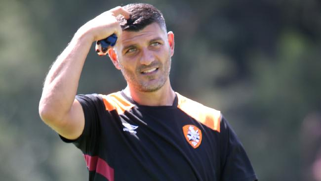 John Aloisi has urged Brisbane to rise to the challenge of beating the A-League's hottest side Sydney FC.