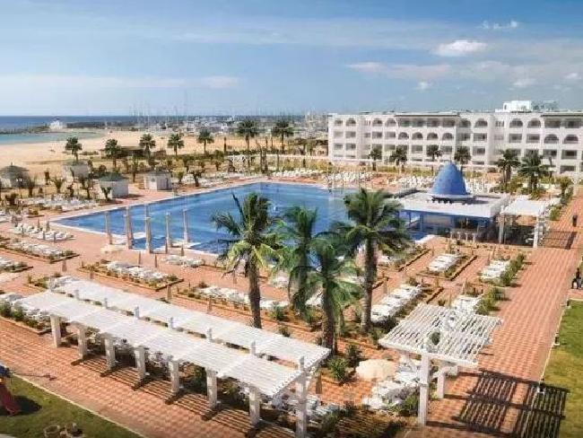 David Worsley was staying at the Rui Marco Polo Hotel in Tunisia when he became ill. Picture: Google Earth