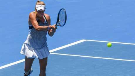 Ellen Perez is through to the second round of the Sydney International.