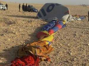 Pilot charged over deadly balloon crash