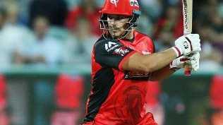 Melbourne Renegades captain Aaron Finch.