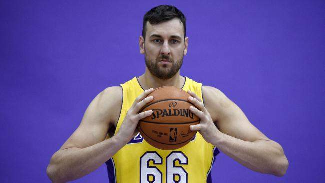 Andrew Bogut is one the move again after splitting with the LA Lakers.