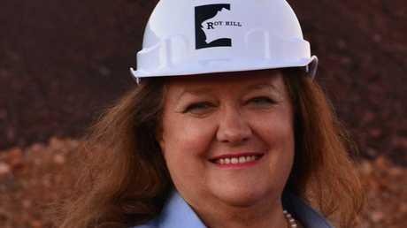 GVK Hancock's Gina Rinehart.