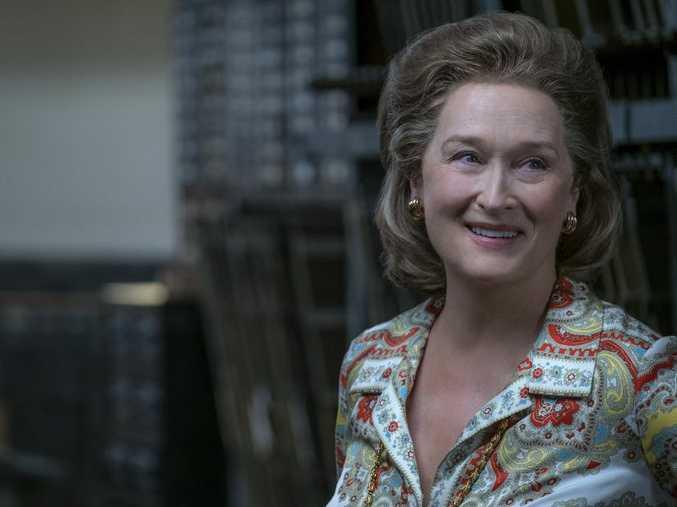 Meryl Streep stars as Kay Graham in the movie The Post.
