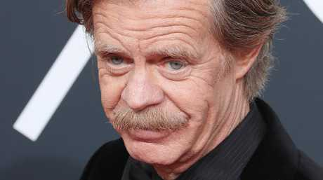 William H. Macy arrives for the 75th annual Golden Globe Awards ceremony at the Beverly Hilton Hotel in Beverly Hills, California.