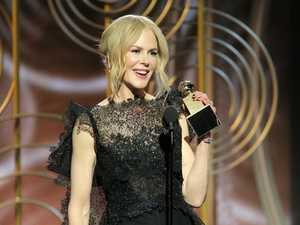 Nicole Kidman wins Golden Globe