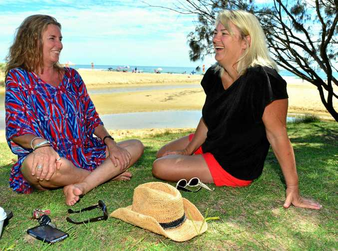 Good friends Judi Barrkman and Kerryn Rowcliffe have an unusual bond. Kerryn donated one of her kidneys to Judi after she suffered kidney failure as well as breast cancer.