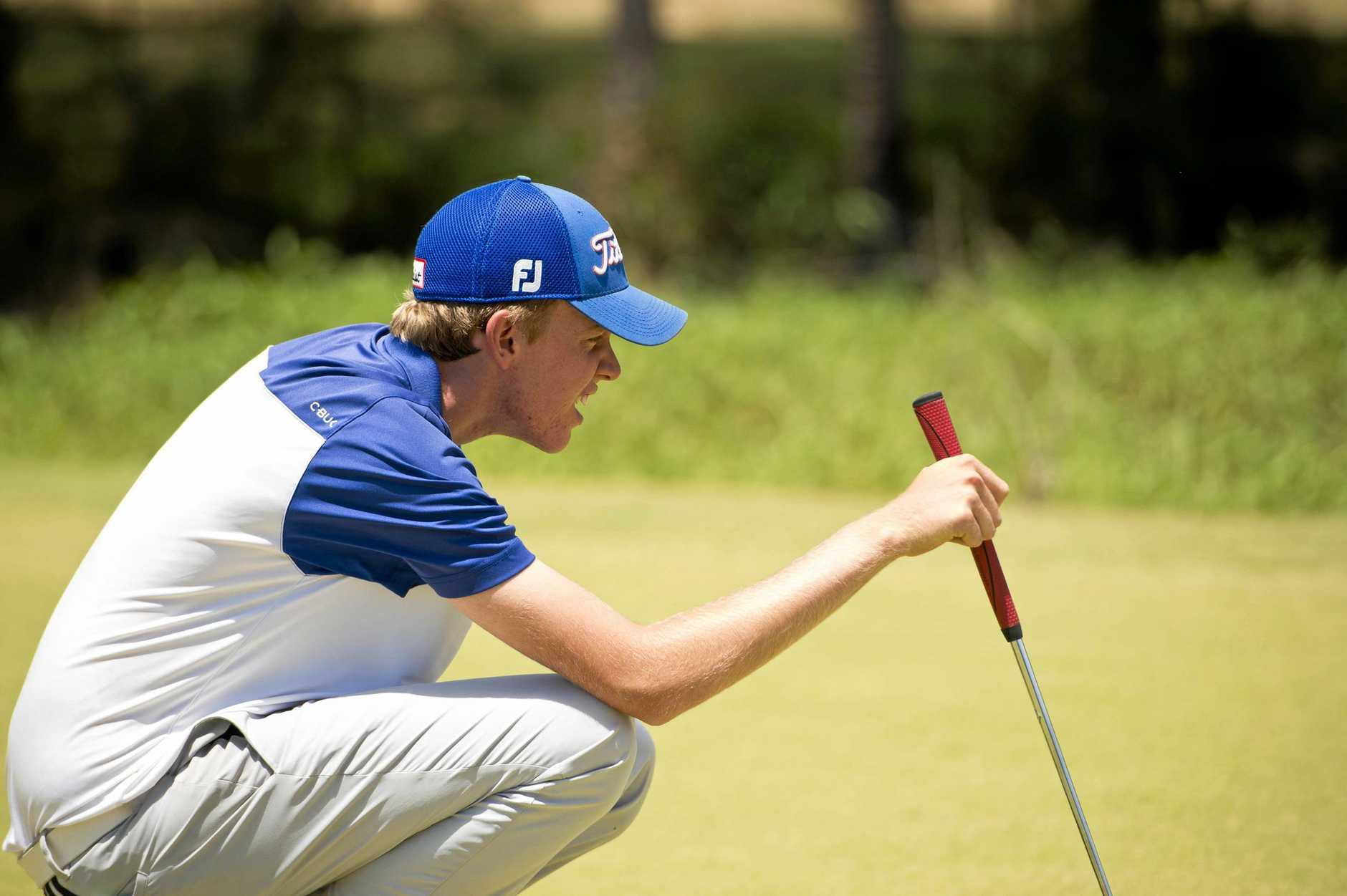 Ben Swaffield. Boyne Junior Golf Championships.