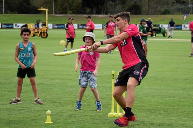 GO BIG: The Sydney Sixers will host its junior Camp Sixers in Coffs Harbour on Wednesday, January 17.