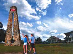 How can Toowoomba rival Stanthorpe's big thermometer?