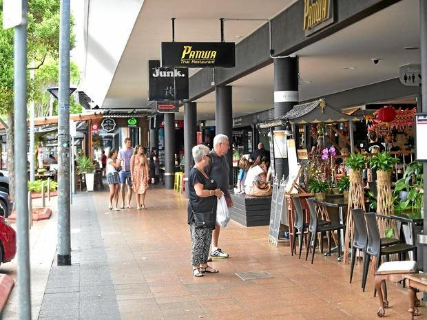 Ocean Street in Maroochydore has grown to become a popular dining destination with plenty of choice.