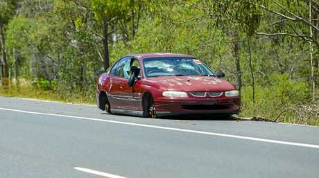 This abandoned Holden Commodore has been sitting on Glenlyon Road near the roundabout to Dixon Drive for some time now, and is becoming an eyesore for Gladstone residents.