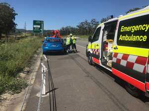 Accident on Pacific Hwy after driver suffers medical episode