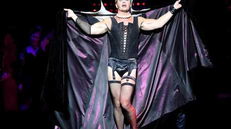 Craig McLachlan is currently starring in The Rocky Horror Show. The claims made against him come from a 2014 production of the same show. Picture: Calum Robertson