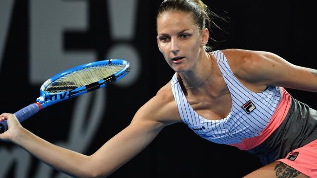 Karolina Pliskova scored a comfortable win.