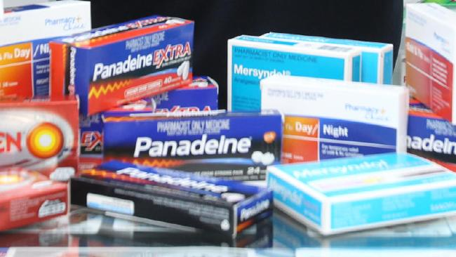 Over-the-counter ban: Some of the drugs which will only be available via prescription from February 1. Picture: News Corp