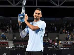 Kyrgios says Open defeat 'left a bad taste'