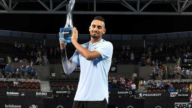Kyrgios fights back to reach Brisbane International final