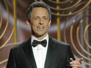 Seth Meyers' Golden Globes opening.