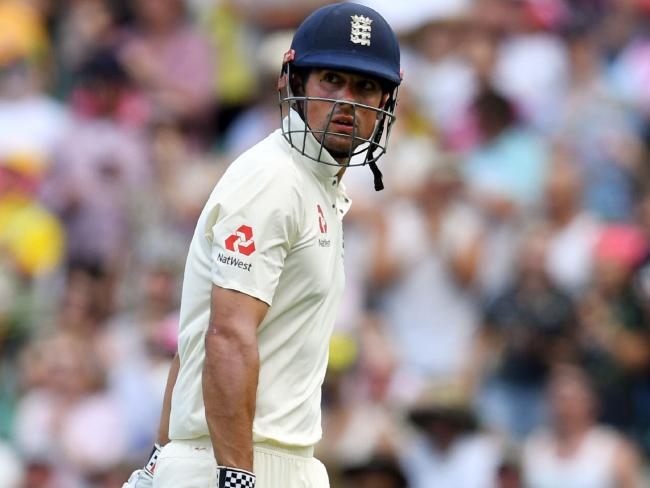 Alastair Cook has won only three of 20 Ashes Tests in Australia.