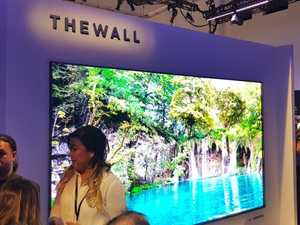 Samsung unveils the TV of your dreams