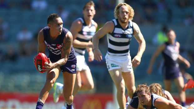 Harley Bennell has played two games in two seasons with Freo. Pic: Getty Images