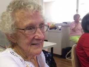 Val Peever celebrates her 90th birthday.