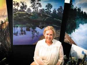 Artist brings passion to Gatton