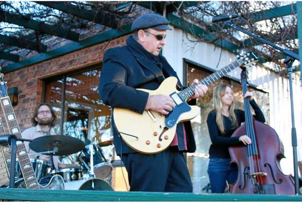ROCKING OUT: Paul Renton AKA Morningside Fats said he loves to get the crowd dancing at live gigs.