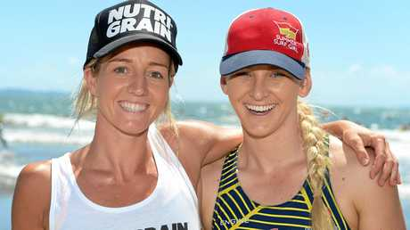 Tara Coleman   and Britt Brymer shared their knowledge with the local nippers.