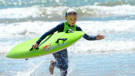 Thirty-six of the region's nippers attended the two-day training camp at Yeppoon.