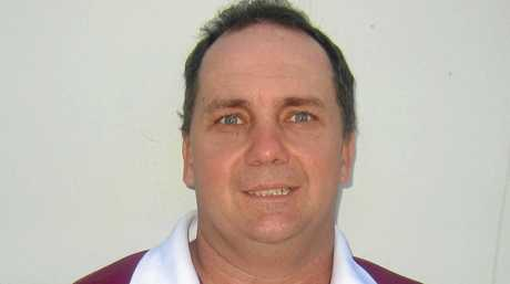 CQ Capras under-20 co-coach Neil Beckett: