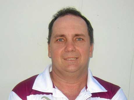 CQ Capras under-20 co-coach Neil Beckett: