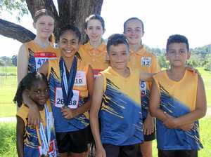Youngsters shine in track and field